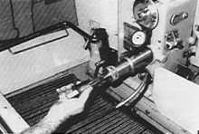 Superior Type 2-stone honing system on Sunnen machine